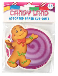 gingerbread man writing paper amazon com eureka candy land assorted paper cut outs 12 each of amazon com eureka candy land assorted paper cut outs 12 each of 3 different designs 36 piece office products