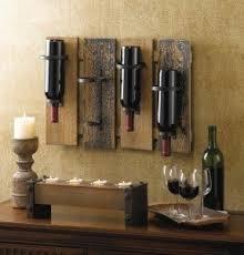 Wine Glass Wall Decor Metal Wall Wine Rack Bottle Holder Foter