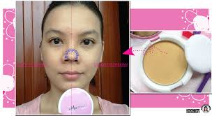 Bedak Marina product review mencoba basic makeup marina smooth and glow uv