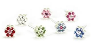 blomdahl earrings plastic blomdahl ørepynt barn skarnes ur