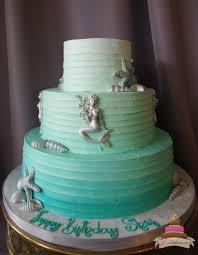 mermaid birthday cake birthdays jcakes