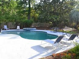 fenced in backyard with pool and spa pet f vrbo