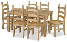 Delighful Pine Dining Room Sets A With Norns Table Throughout - Pine dining room sets