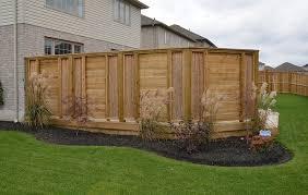 Backyard Fence Ideas Pictures Modern Backyard Fence Ideas Peiranos Fences Durable Backyard
