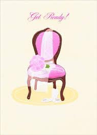 Bridal Shower Chair Bridal Shower Chair A Press Glitter Bridal Shower Card By Avanti Press