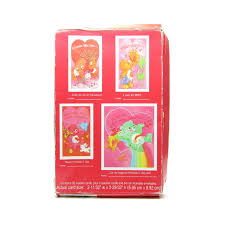care bears valentines 1995 vintage box 34 valentine u0027s cards