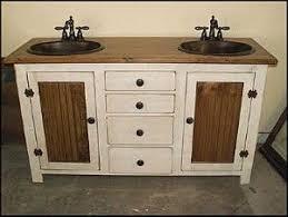 Country Style Bathroom Vanity Best 25 Country Bathroom Vanities Ideas On Pinterest Rustic