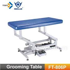 best electric grooming table ft 806p plastic top electric lifting grooming table buy electric