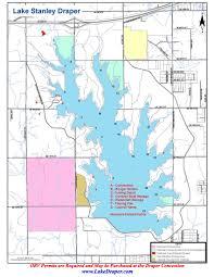 Okc Map Lake Draper Marina
