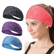 headband sport 2018 women hair bands sport elastic headband sports