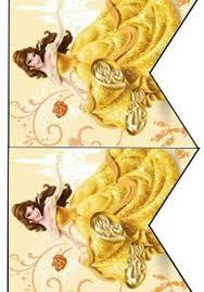 beauty beast banner belle birthday banner printable
