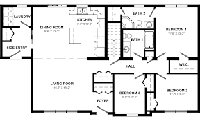 Ranch Open Floor Plans by Open Concept House Plans In Addition Ranch Home Plans With Open