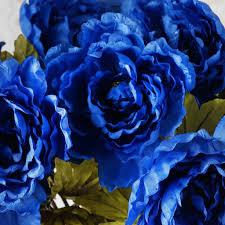 Peony Flowers 42 Queen Peony Flowers Royal Blue Efavormart