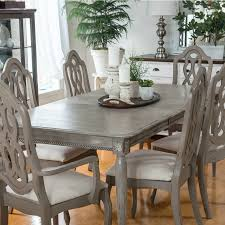 dining table makeover with paint and moulding by orphans with