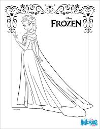 sensational idea elsa coloring pages frozen elsa the snow queen