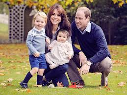 royal family in a new card