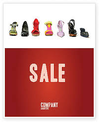 lady u0027s shoes sale poster template in microsoft word publisher and