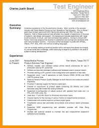 6 test engineer resume mla cover page