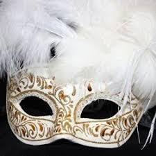 venetian masquerade mask white and gold venetian masquerade mask with ostrich and capon