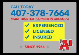 orlando plumber 24 hour emergency plumber orlando a1 service