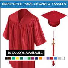 cheap cap and gown preschool graduation cap and gown packages gradshop