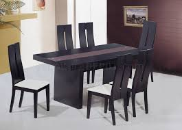 inlaid dining table and chairs modern wenge dining table probhost design