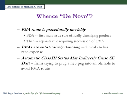 the de novo 510 k process is there hope at fda for lower risk inno u2026