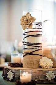 Country Wedding Decoration Ideas Pinterest Best 25 Burlap Centerpieces Ideas On Pinterest Country Wedding