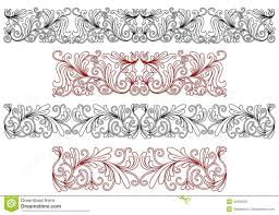 decorative ornaments and borders royalty free stock photo image