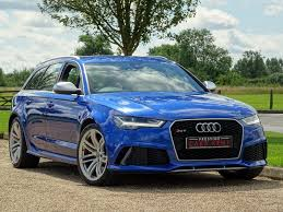 used audi rs6 blue for sale motors co uk
