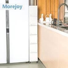 narrow storage cabinet for kitchen morejoy 18cm ultra narrow quilted rack kitchen refrigerator