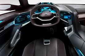 peugeot car interior gallery concept car