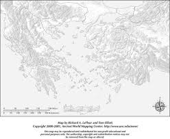 Greece Map Blank by Printable Blank Map Greece U0026 The Aegean I Roman History