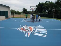 Backyard Tennis Court Cost Backyards Charming Backyard Tennis Courts 52 Outdoor Basketball