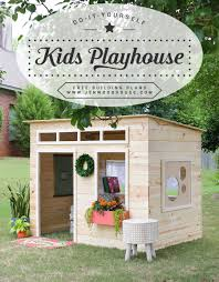 How To Build A Shed Plans For Free by Easy Kids Indoor Playhouse