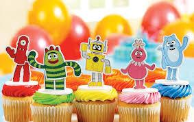 yo gabba gabba birthday party kids birthday parties