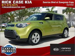 used 2014 kia soul in sunrise fl vin kndjn2a2xe7722169