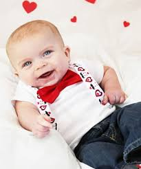 valentines baby valentines day baby boy heart and mustache suspenders set