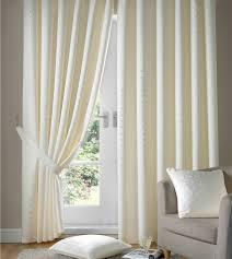 madison cream tape top curtains