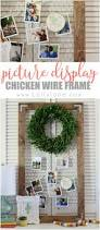 Homemade Picture Frame Christmas Ornaments Best 20 Chicken Wire Frame Ideas On Pinterest Holiday Porch