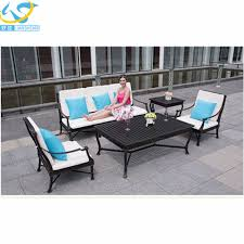breathtaking outdoor wrought iron patio furniture inspiring design outdoor 4051993 z large french val dosne cast iron garden bench