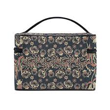 Girls case organizer bags indian pattern mnsruu cosmetic bag
