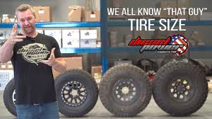 jeep tire size chart what your tire size means size matters youtube
