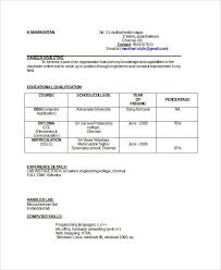 resume format for engineers freshers ece evaluation gparted for windows best resume formats 47 free sles exles format free