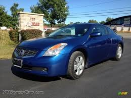 nissan altima coupe sports car 2008 nissan altima 2 5 s coupe in azure blue metallic 268022