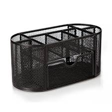 Mesh Desk Organizer Honana Hn B26 Mesh Desk Organizer Oval Desktop Storage Box Pencil