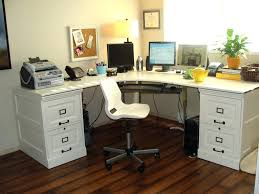office design image of white corner desk with hutch melbourne