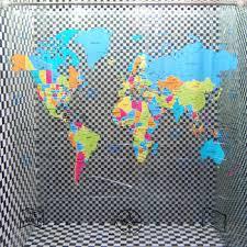 Shower Curtain World Map Cheap Transparent Pvc Curtain Find Transparent Pvc Curtain Deals