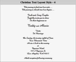 christian wedding cards wordings christian wedding invitations wlw designs