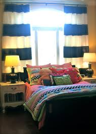 Black And White Striped Bedroom Curtains Splendid Black And White Striped Curtain Panels Decorating Ideas